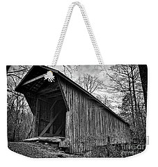 Bunker Hill Covered Bridge Weekender Tote Bag