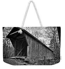 Bunker Hill Covered Bridge Weekender Tote Bag