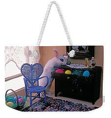 Bunny In Small Room Weekender Tote Bag