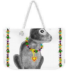 Bunny Post Card Weekender Tote Bag