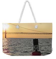 Buoy And Bridge Weekender Tote Bag