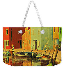 Burano, Italy - Study Weekender Tote Bag