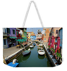 Burano Morning Weekender Tote Bag