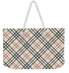 Burberry Pattern Weekender Tote Bag