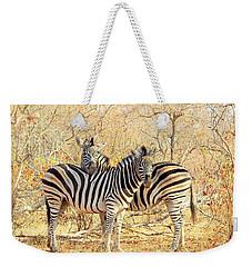 Burchells Zebras Weekender Tote Bag