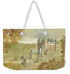 Burg Eltz Castle Weekender Tote Bag by Juan Bosco