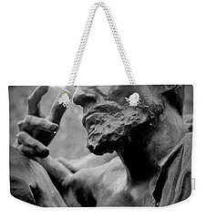 Weekender Tote Bag featuring the photograph Burgher Of Calais - I by Samuel M Purvis III