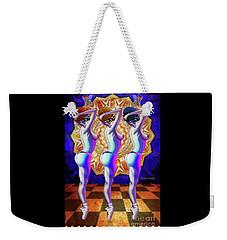 Burlesque Dancers Act One Weekender Tote Bag