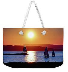 Burlington Breakwater Sunset Weekender Tote Bag