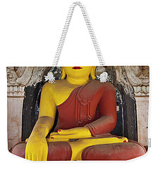 Weekender Tote Bag featuring the photograph Burma_d1150 by Craig Lovell