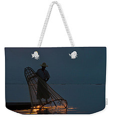 Weekender Tote Bag featuring the photograph Burma_d143 by Craig Lovell