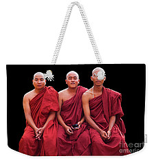 Weekender Tote Bag featuring the photograph Burma_d1610 by Craig Lovell
