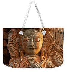 Weekender Tote Bag featuring the photograph Burma_d187 by Craig Lovell