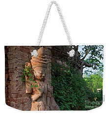 Weekender Tote Bag featuring the photograph Burma_d195 by Craig Lovell