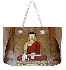 Weekender Tote Bag featuring the photograph Burma_d2078 by Craig Lovell