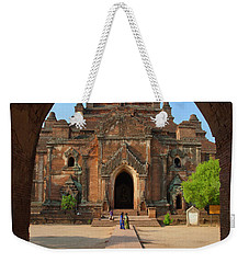 Weekender Tote Bag featuring the photograph Burma_d2095 by Craig Lovell