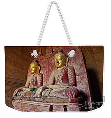 Weekender Tote Bag featuring the photograph Burma_d2104 by Craig Lovell