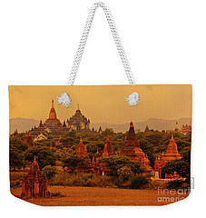 Weekender Tote Bag featuring the photograph Burma_d2136 by Craig Lovell