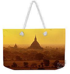 Weekender Tote Bag featuring the photograph Burma_d2227 by Craig Lovell