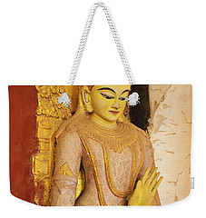 Weekender Tote Bag featuring the photograph Burma_d2257 by Craig Lovell