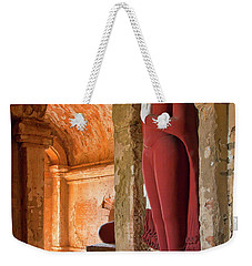 Weekender Tote Bag featuring the photograph Burma_d2280 by Craig Lovell