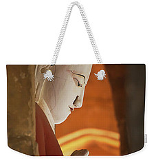 Weekender Tote Bag featuring the photograph Burma_d2287 by Craig Lovell