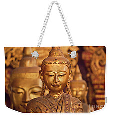 Weekender Tote Bag featuring the photograph Burma_d579 by Craig Lovell