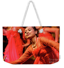 Burmese Dance 1 Weekender Tote Bag by Werner Padarin