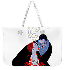 Weekender Tote Bag featuring the photograph Burning Desire 1919 by Padre Art