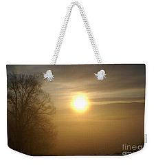 Burning Off The Fog Weekender Tote Bag