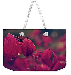 Burning Red Weekender Tote Bag