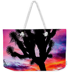 Burning Sky Weekender Tote Bag