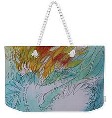 Burning Thoughts Weekender Tote Bag by Marat Essex