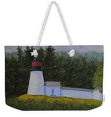 Burnt Island Light Weekender Tote Bag