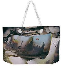 Burnt Weekender Tote Bag