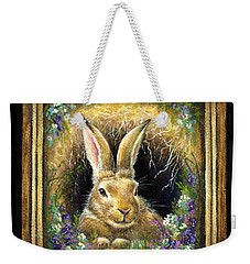 Burrowing Into Tranquility Weekender Tote Bag