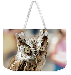 Burrowing Owl Portrait Weekender Tote Bag