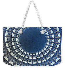Burst Of Blue View Of A Dome Weekender Tote Bag