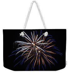 Weekender Tote Bag featuring the photograph Burst Of Elegance by Bill Pevlor