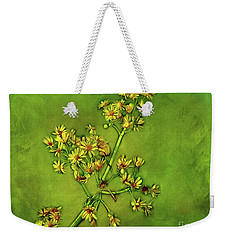 Burst Of Happiness Weekender Tote Bag by Judi Bagwell