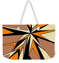Burst Of Orange 2 Weekender Tote Bag by Linda Velasquez