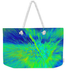 Weekender Tote Bag featuring the photograph Bursting by Betty-Anne McDonald