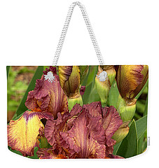 Weekender Tote Bag featuring the photograph Bursting In Beauty by Sheila Brown