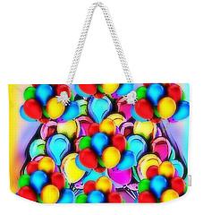 Bursting With Colors Weekender Tote Bag