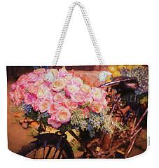 Bursting With Flowers Weekender Tote Bag