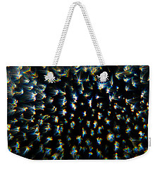 Weekender Tote Bag featuring the photograph Bursts by Greg Collins