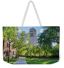 Burton Memorial Tower 1 University Of Michigan  Weekender Tote Bag