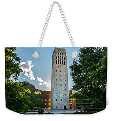 Burton Memorial Tower 2 University Of Michigan  Weekender Tote Bag