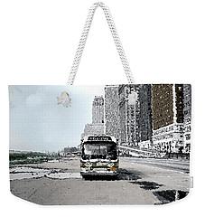 Bus Weekender Tote Bag