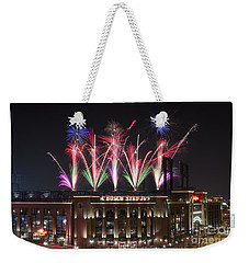 Busch Stadium Weekender Tote Bag by Andrea Silies